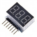 Lipo Battery Low Voltage Indicator Checker
