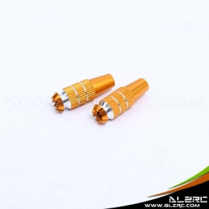 ALZRC 4mm Aluminum Transmitter Stick Mod for JR TX - Gold Integration