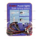 Aviation Power Light (LED) Scale Lighting System for RC Helicopter / Plane