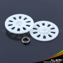 ALZRC - Devil 450 Pro Autorotation tail drive gear - White