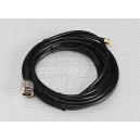 RG58 patch cable SMA Male to N Male (5 Meter)