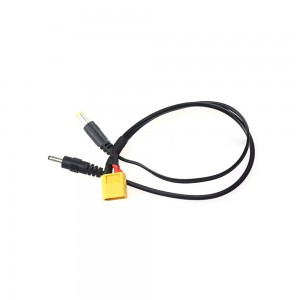 XT60 to 3.5mm/5.5mm DC Wire 22CM for RC Quadcopter Multirotor Power Supply/Receiver/Monitor FPV