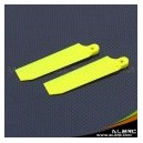 ALZRC - Devil 500 75mm Tail Blade - Fluorescent Yellow
