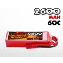 2600mAh 60C 6S (22.2v) Billowy Power LiPo аккумулятор