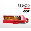 3300mAh 60C 6S (22.2v) Billowy Power LiPo аккумулятор