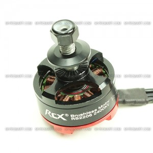 Мотор RCX RS2206 (V3) 2400KV FPV Racing Motor (Japan EZO Bearing / N52SH Arc Magnet)