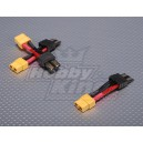 Male Traxxas - Female XT60 (3pcs/bag)