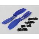 Пропеллеры 10x4,5 SF (цвет синий) 2шт. стандартного вращения / 2шт. RH вращения.
