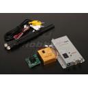 900MHZ 800mW Приёмник/Передатчик с 1/3-дюймовой CCD камерой *520 PAL