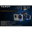 Tarot TL68A00 Brushless Gimbal w/Gyro 2-Axis Camera Mount FPV PTZ GoPro 3 Hero3