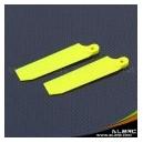 ALZRC - Devil 500 75mm Tail Blade - Fluorescent Yellow