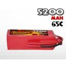 5200mAh 65C 6S (22.2v) Billowy Power LiPo аккумулятор