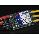 Регулятор HobbyKing YEP 30A (2~4S) SBEC Brushless Speed Controller