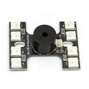 Светодиодная панель 6 штук c пищалкой для NAZE32 F3 FLIP32 CC3D Skyline32 Flight Controller DIY Drone