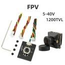 "Камера Micro Digital 1/3"" CMOS FPV Camera (2.1mm / 1200TVL / 5-40V / Black)"