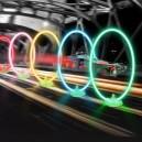 Комплект из 5 ворот разных цветов для гонок Eachine. С таймером.