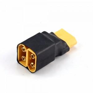 Разветвитель XT60 для последовательного соединения двух батарей (1шт.)