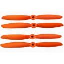 Воздушный винт Gefman оранжевый 2 пары 5045 + 5045R  (4шт)