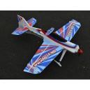РУ модель самолета - Sky Sprite F3D-1000 кит. Цвет - синий. Размах крыла 1000мм.
