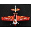 РУ модель самолета - Sky Sprite F3D-1000 кит. Цвет - красный. Размах крыла 1000мм.